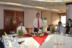 Lãnh đạo tỉnh Br-VT chúc Tết Resort Vung Tau Intourco