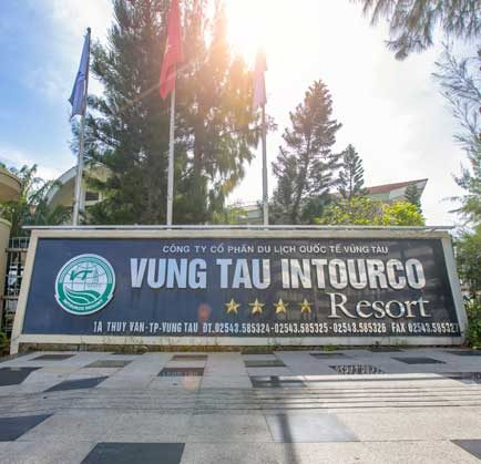 Vung Tau Intourco Resort revalidated 4-star level successfully