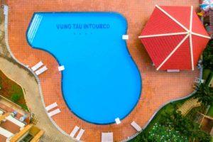 Hồ bơi nước mặn - nước ngọt tại Vung Tau Intourco Resort