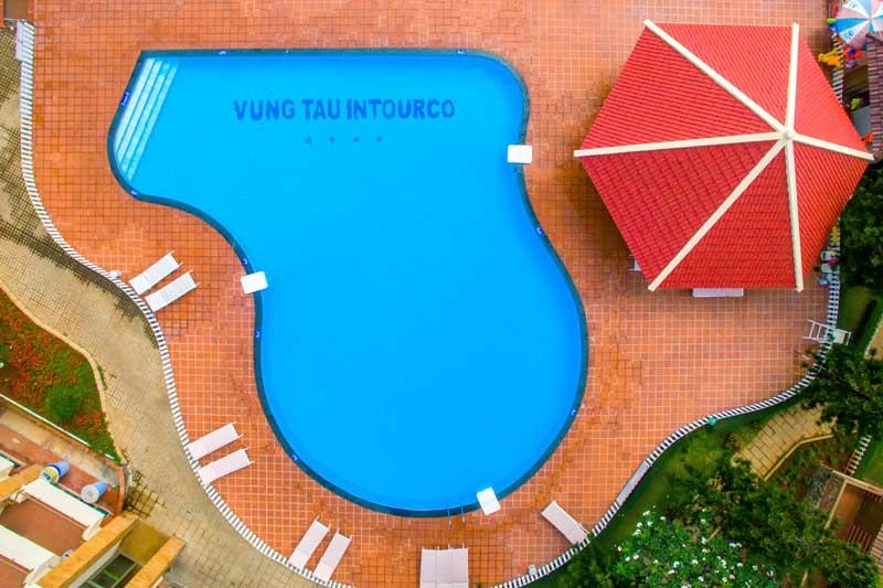 Hồ bơi nước mặn - nước ngọt Vung Tau Intourco Resort