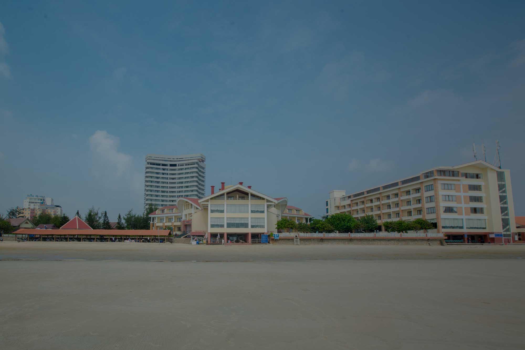 Resort Intourco Vungtau có bãi biển riêng