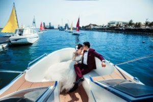 Chụp ảnh cưới tại Bến thuyền Marina - intourco resort