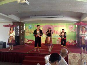Tiết mục văn nghệ đặc sắc tại buổi mừng xuân Vung Tau Intourco Resrot