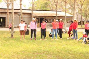 Trò chơi đi trên giấy - Vũng Tàu Intourco Resort-team