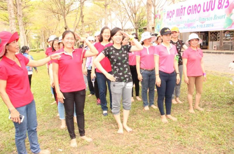 Intourcoresort tổ chức mùng 8-3 cho phái đẹp trong công ty