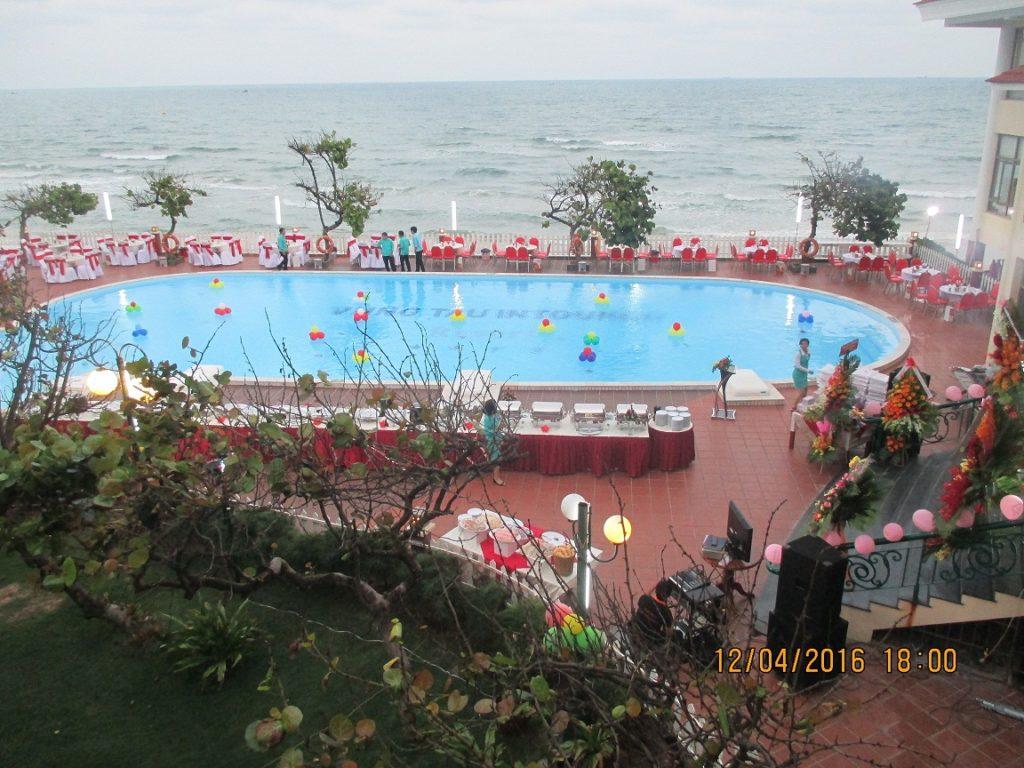 Buổi họp mặt diễn ra tại Intourco Resort