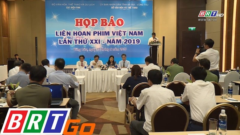 Họp báo Liên Hoan Phim Việt Nam lần thứ 21