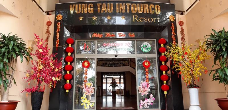 Không khí Tết tại Vungtau Intourco Resort